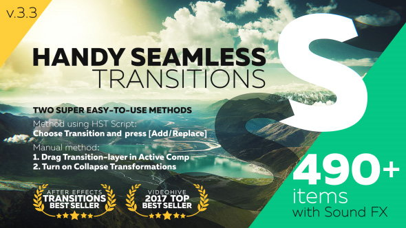 after effects transition pack videohive