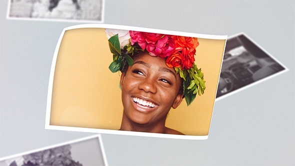 Photo Gallery After Effects Slideshow Template Al
